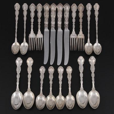 "Gorham ""Strasbourg"" Sterling Silver Flatware, 1897 - 1950"
