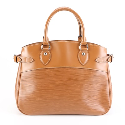 Louis Vuitton Passy PM in Cannelle Epi Leather