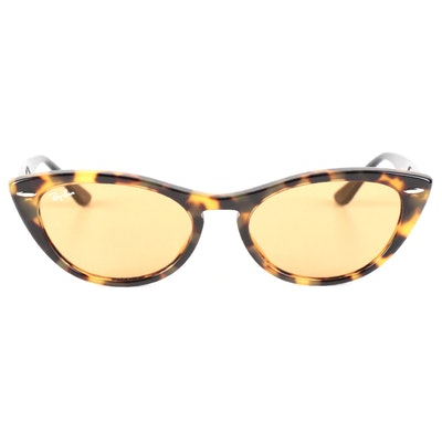 Ray-Ban RB 4314-N Nina Cat Eye Sunglasses with Case and Box