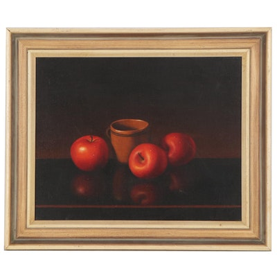 Alfred Jackson Still Life Oil Painting, Late 20th Century