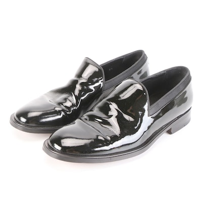 Men's Saks Fifth Avenue Loafers with Men's Wearhouse Pocket Square