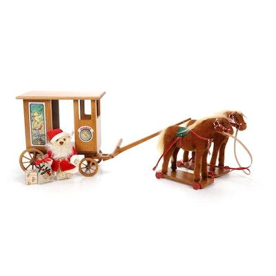 "Steiff ""Santa's Express"" Christmas Decor"