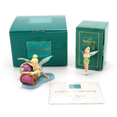 Walt Disney Classics Collection Tinkerbell Ceramic Figurines