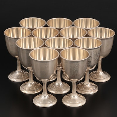 Manchester Silver Co. Sterling Silver Goblets