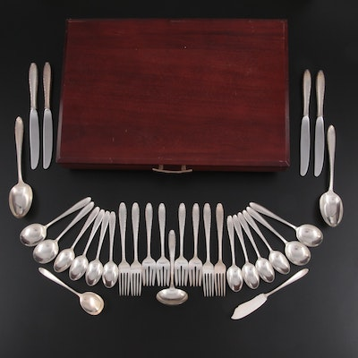 """Alvin """"Southern Charm"""" Sterling Silver Flatware, Mid to Late 20th Century"""