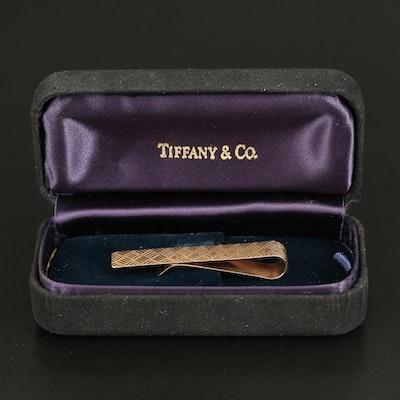 Tiffany & Co. 14K Tie Bar