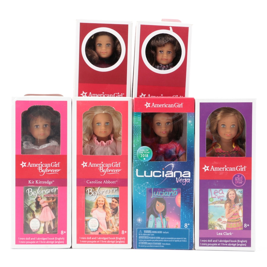 """American Girl """"Mini Doll"""" Collection, Including Samantha"""