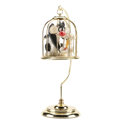 """Limited Edition Looney Tunes """"Bad Ol' Puddy Tat"""" Ornament and Stand"""