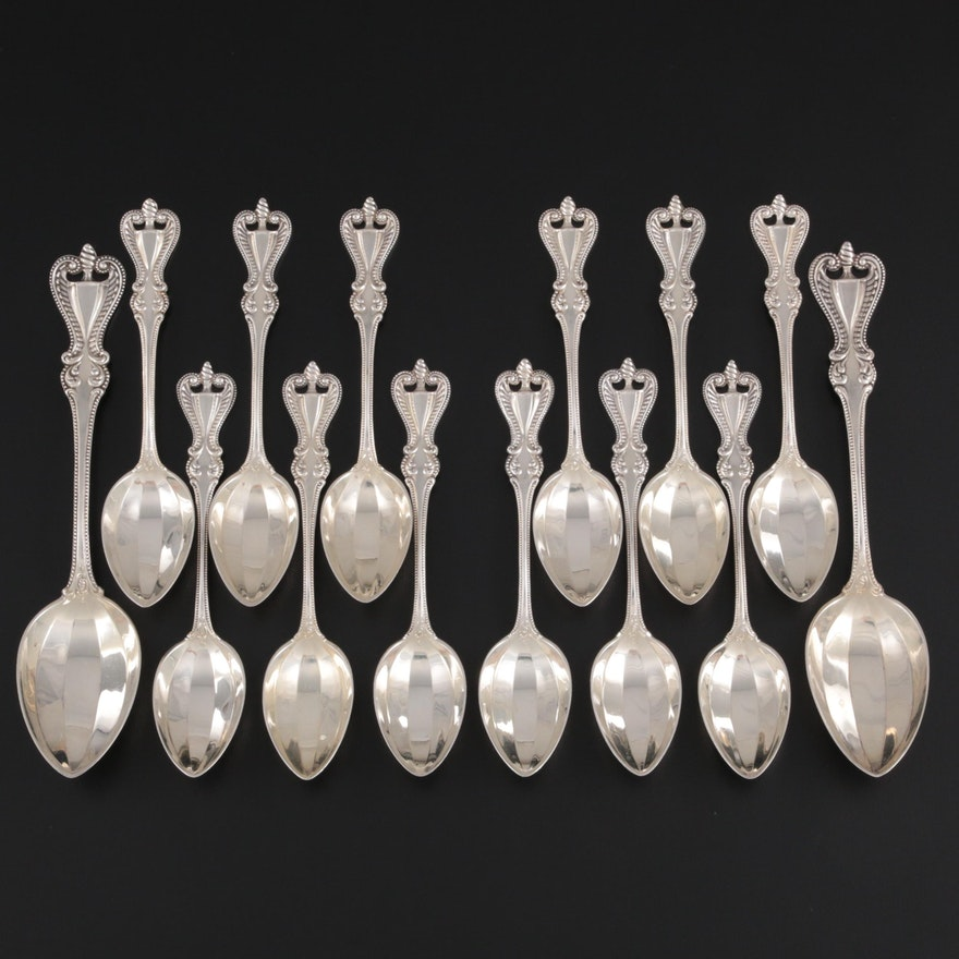 """Towle """"Old Colonial"""" Sterling Silver Spoons, Late 19th/Early 20th Century"""