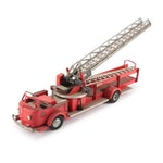 Charles Wm. Doepke Mfg. Co. Pressed Steel Hook and Ladder Fire Truck, 1950s