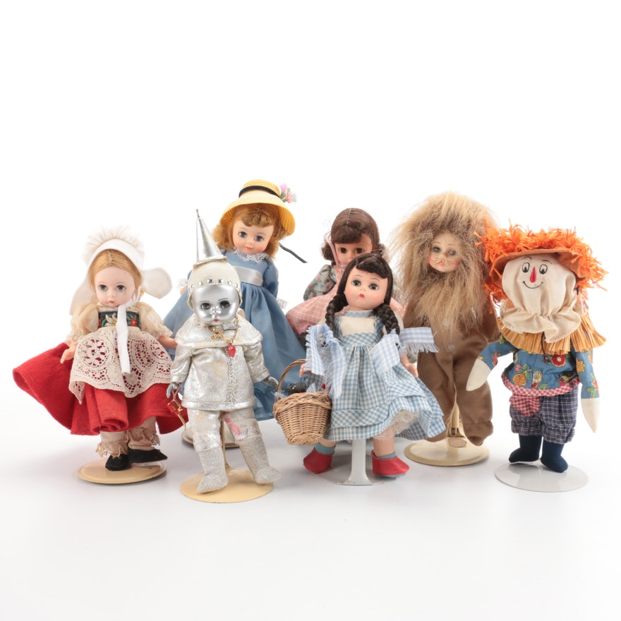 """Madame Alexander """"The Wizard of Oz"""" and Other Dolls, Including Dorothy"""