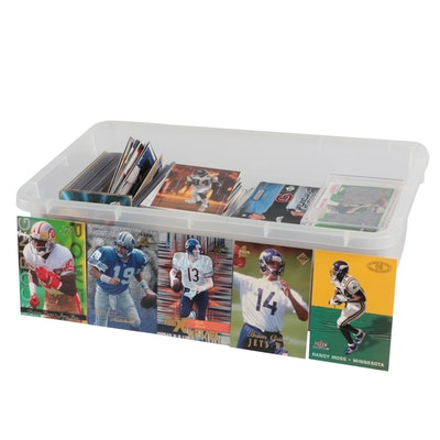 NFL, MLB, NCAA Trading Cards Including Joe Montana, Jerry Rice, and More