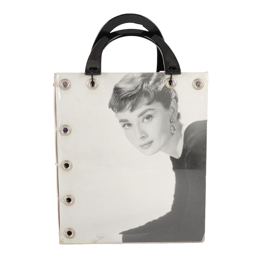 Album Cover Handbags Audrey Hepburn Themed Tote Bag