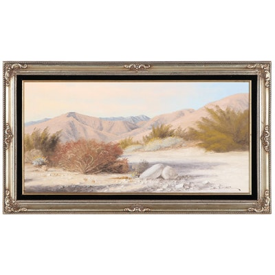 "Vance Danner Landscape Painting ""Desert Harmony,"" Late 20th Century"