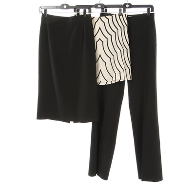 Prada and Marc by Marc Jacobs Skirts with Diane Von Furstenberg Trousers