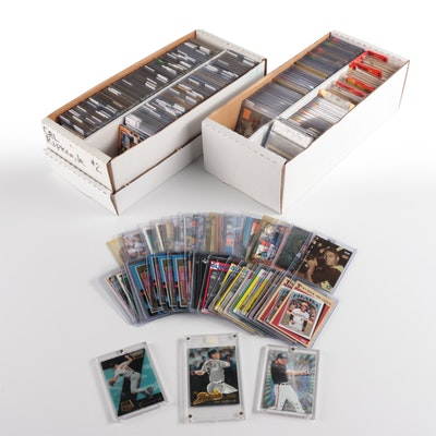 1980s-1990s Baseball Cards with Cal Ripken, Jr. Collection and Unopened Packs