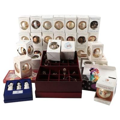Christopher Radko, Danbury Mint, Lenox, Schmid, and Other Christmas Ornaments