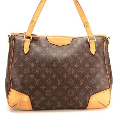 Louis Vuitton MM Estrela Bag in Monogram Canvas with Vachetta Leather