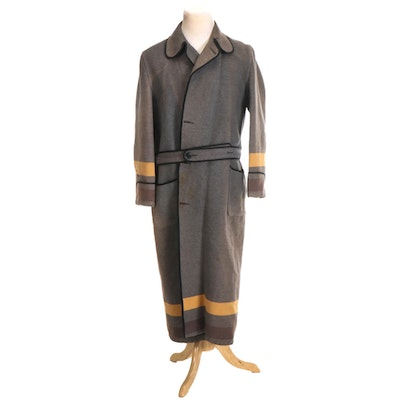 West Point Wool Robe, Early to Mid 20th Century