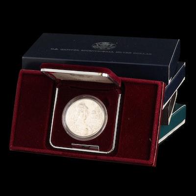 Five Modern Commemorative Proof Silver Dollars