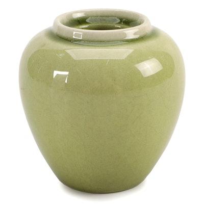Rookwood Pottery Glazed Ceramic Ginger Jar, 1949