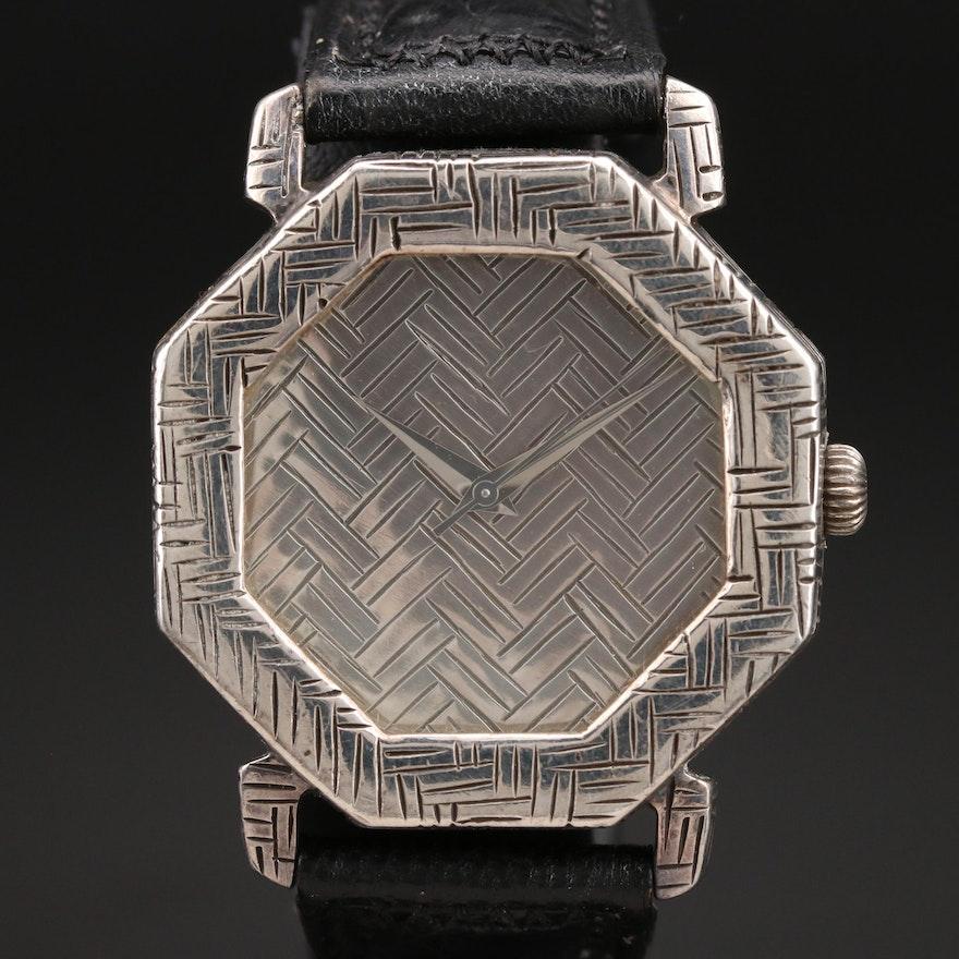 John Hardy Sterling Silver Wristwatch