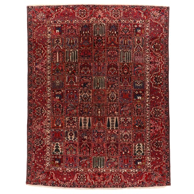 10'8 x 13'8 Hand-Knotted Persian Bakhtiari Room Sized Rug