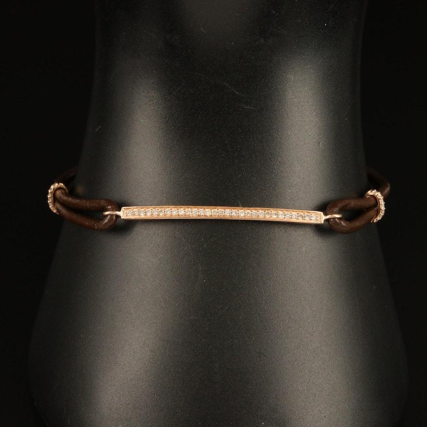 14K 0.15 CTW Diamond Bracelet