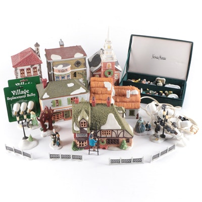 """Department 56 """"Dickens' Village"""" and Other Christmas Buildings and Accessories"""