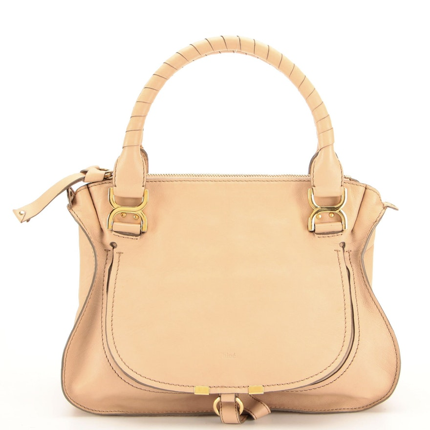 Chloé Medium Marcie Leather Shoulder Bag