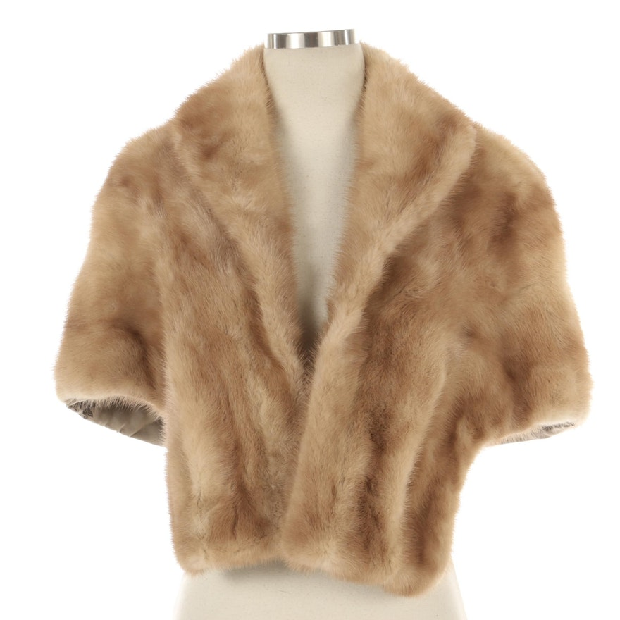 Mink Fur Stole from Elder-Beerman