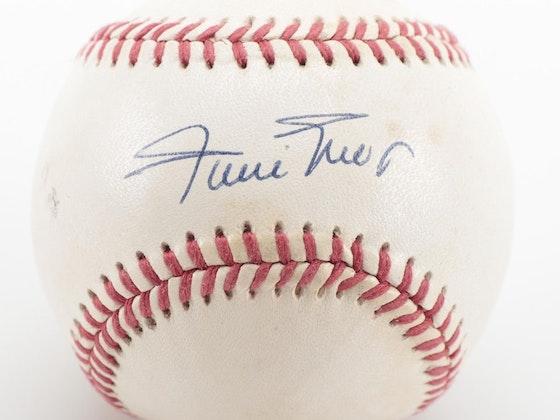 Autographed Baseballs, Sports Memorabilia, Cards, & More