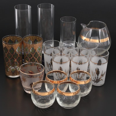 """Rosenthal """"Linear Terzo"""" and Other Mid Century Modern Drinkware"""
