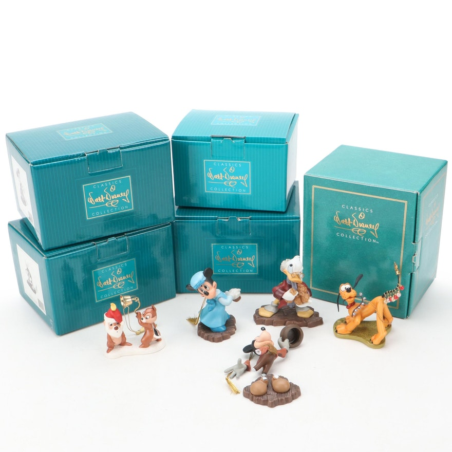 """Walt Disney Classics """"Mickey's Christmas Carol"""" and Other Character Ornaments"""