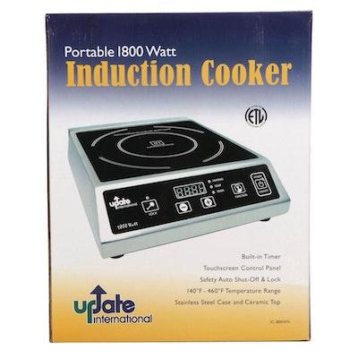 Update International Portable 1800 Watt Induction Cooker