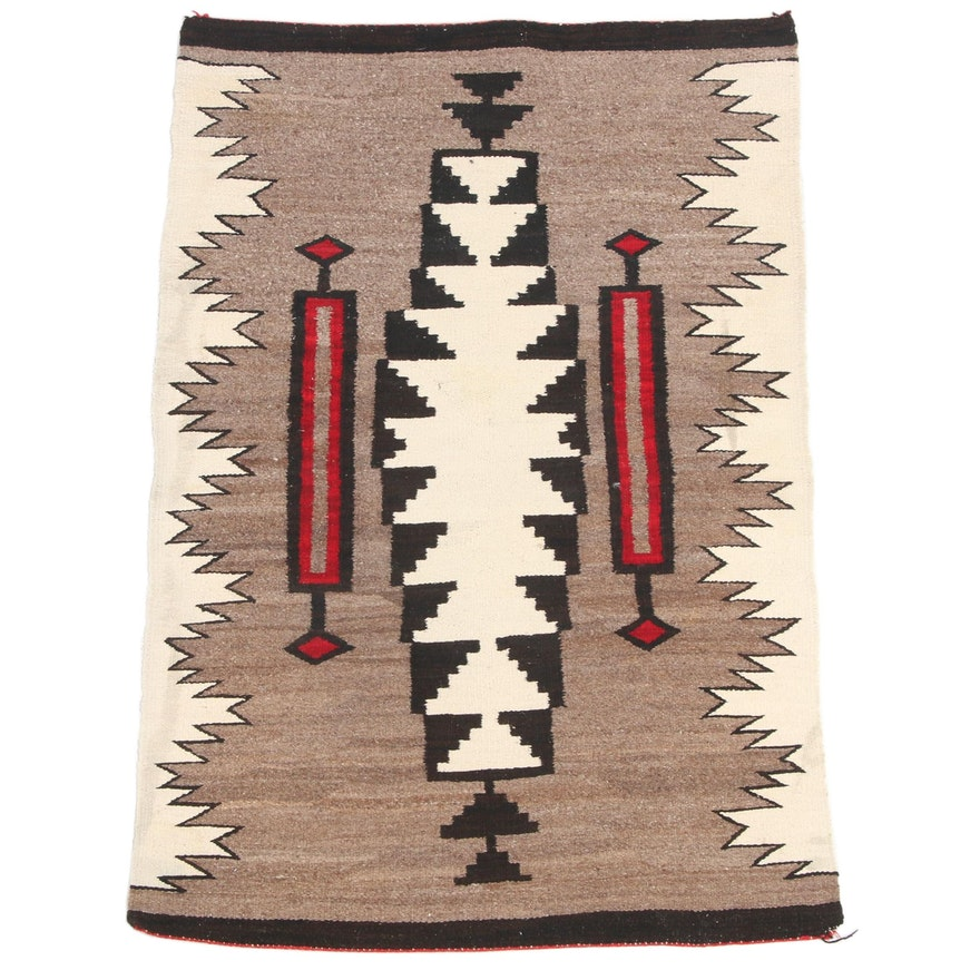 2'10 x 4'6 Handwoven Southwestern Style Accent Rug