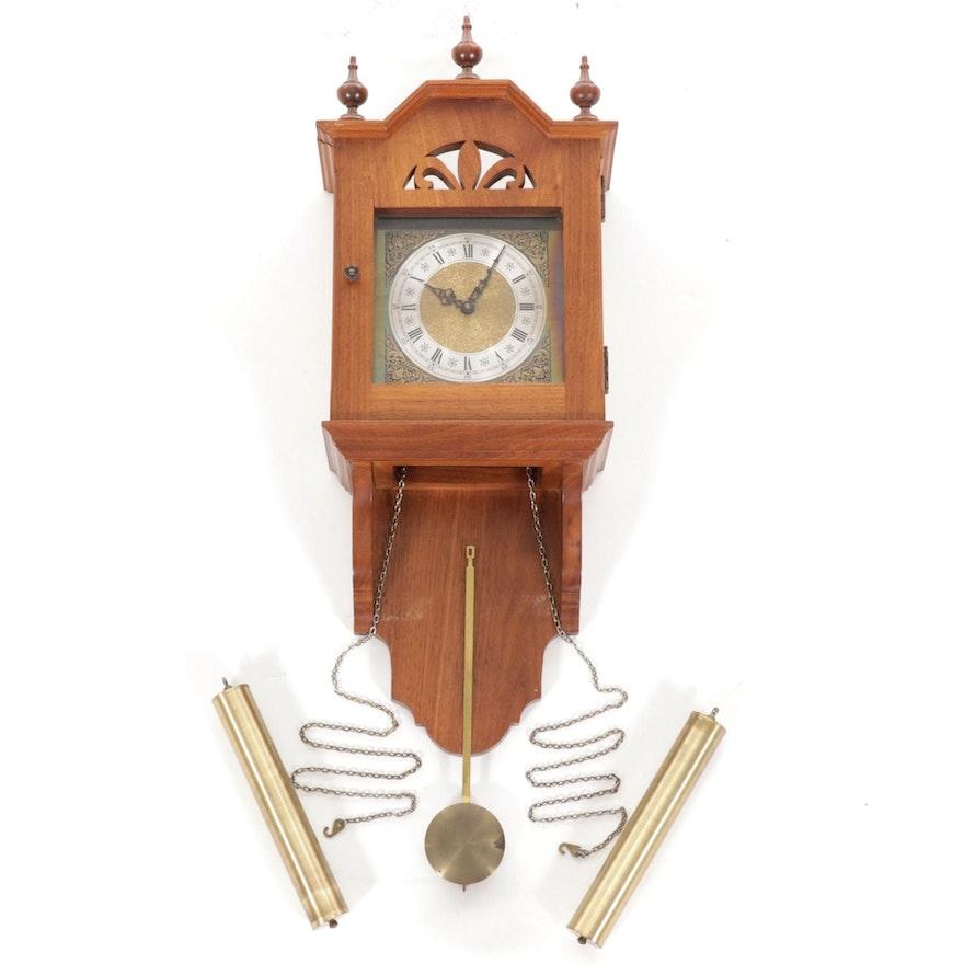 Wooden Pendulum Wall Clock