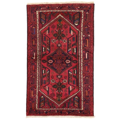 4'2 x 7'1 Hand-Knotted Northwest Persian Area Rug