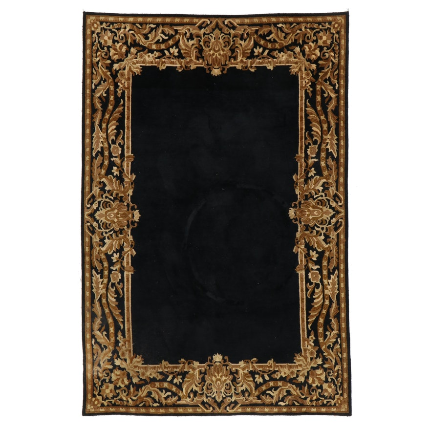 5'9 x 8'8 Hand-Knotted Annapurna Collection Wool Area Rug