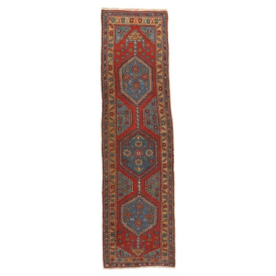 2'10 x 11' Hand-Knotted Northwest Persian Carpet Runner