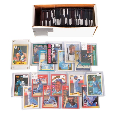 1987-1993 Bo Jackson Baseball Card Collection Including Rookie Cards