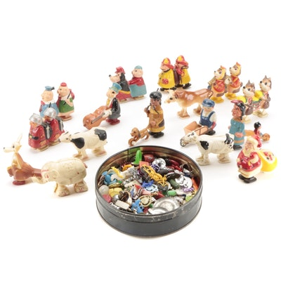 Ramp Walker Toys with Others, Mid-20th Century