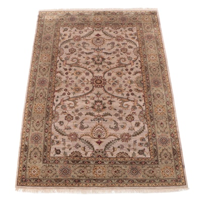 8'3 x 12' Hand-Knotted Indian Chobi Room Sized Rug