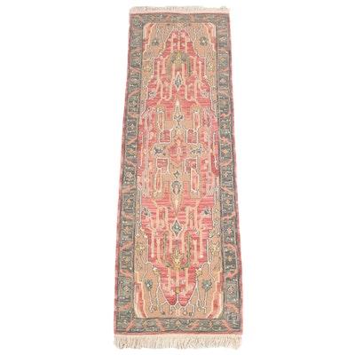 2'6 x 8'7 Handwoven Turkish Soumak Carpet Runner