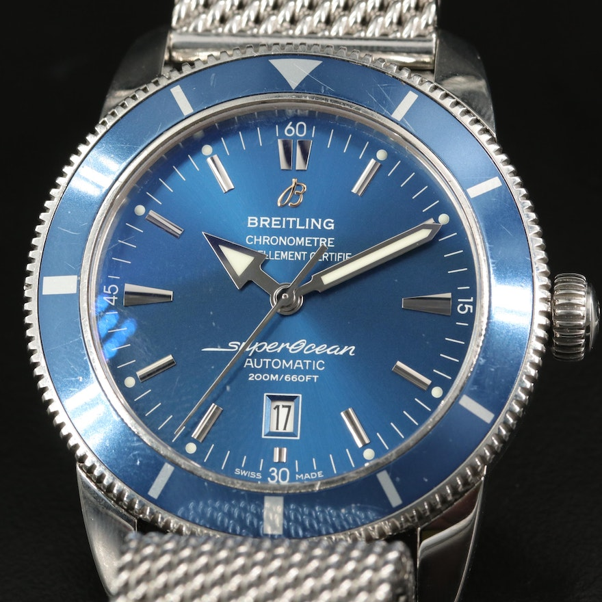 Breitling Superocean Heritage 46 Stainless Steel Automatic Wristwatch