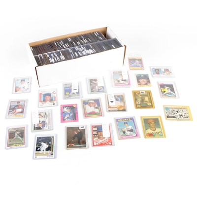 1970s–1990s Nolan Ryan Baseball Card Collection with Promos and Inserts