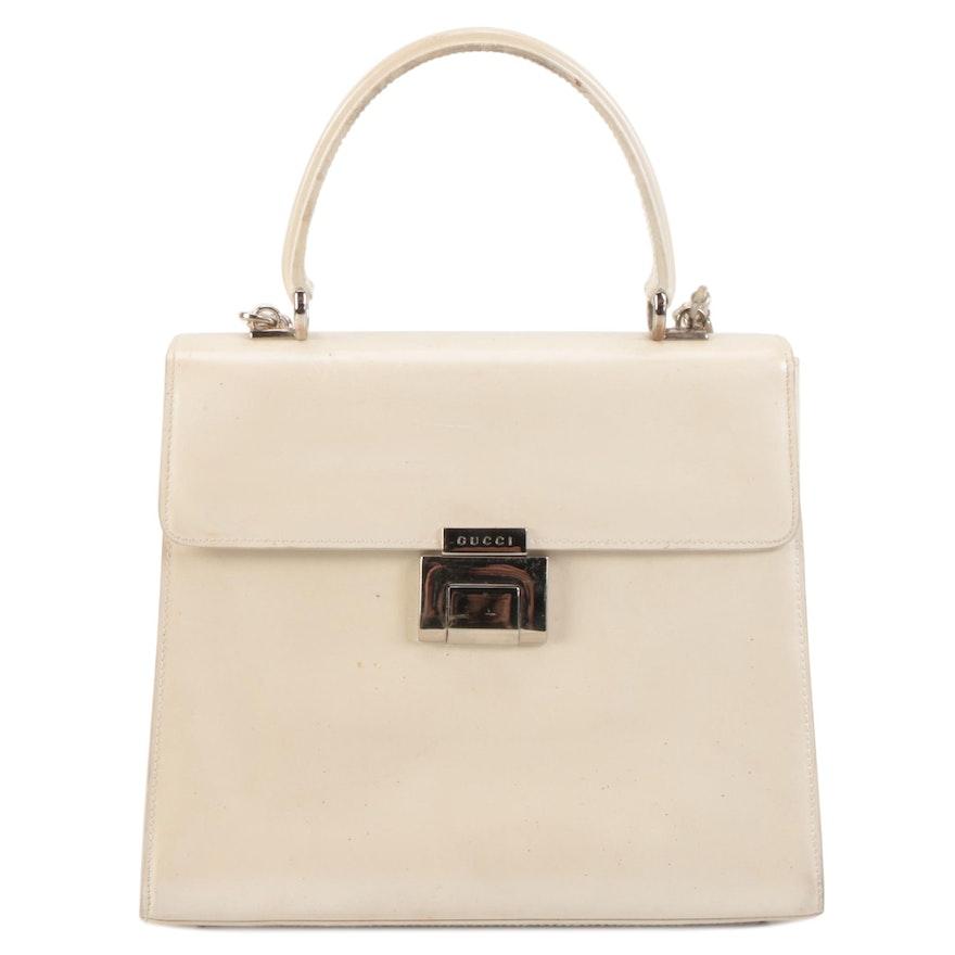 Gucci Leather Two-Way Handbag