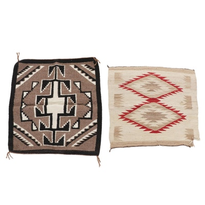 Handwoven Navajo Geometric Accent Rugs