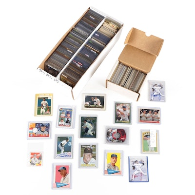 1960s-2000s MLB Baseball Cards Including Multiple Star Player Rookie Cards