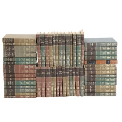 """Britannica """"Great Books of the Western World"""" Complete Set, Mid-20th Century"""